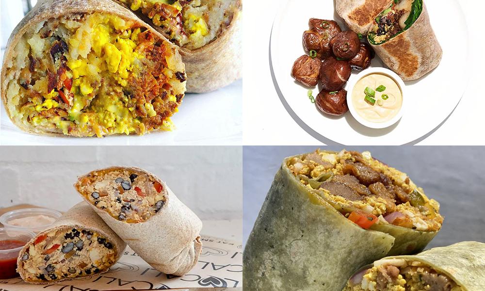 6 Best Vegan Breakfast Burritos in Los Angeles (LA) Hero Image No Text No Fade