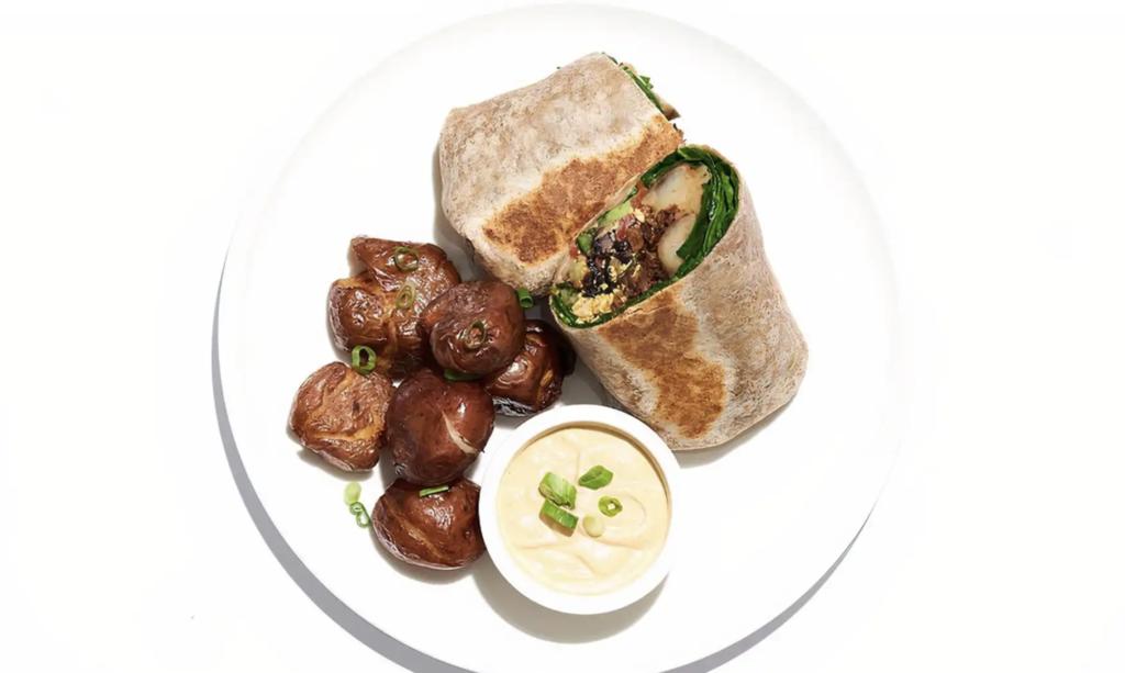 Cafe Gratitude Plant-Based Nourished Breakfast Wrap Photo