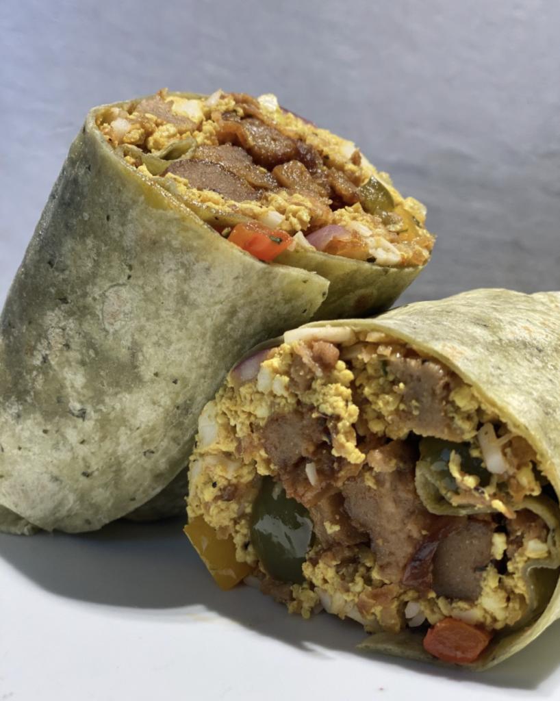 Erewhon Vegan Breakfast Burrito (Photo) in LA