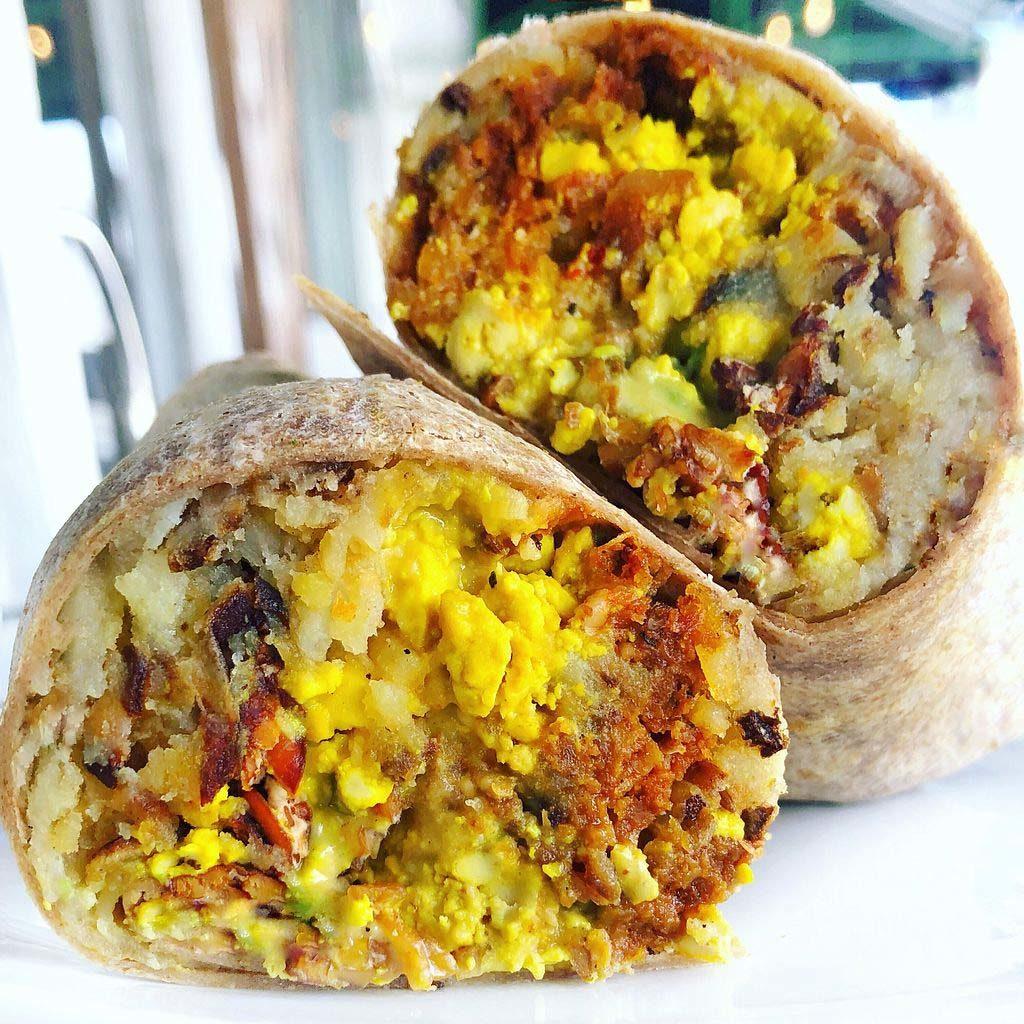 Real Food Daily Vegan Breakfast Burrito
