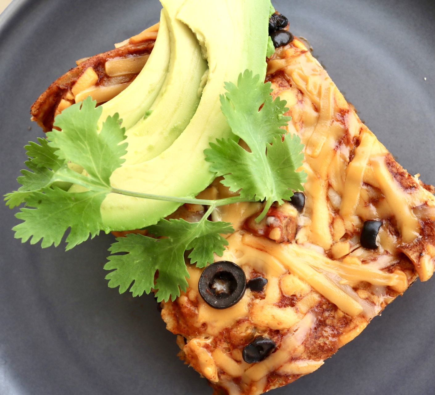Vegan Enchilada Casserole Gluten-Free by Vegan Anj Featured